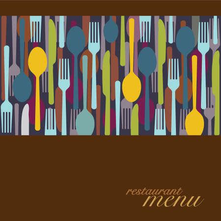 cocktail strainer: Menu design - Illustration Illustration