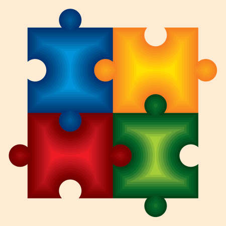 Puzzle - Illustration Vector