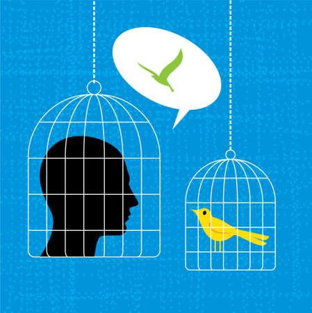 birdcage: Birdcage Concept - Illustration