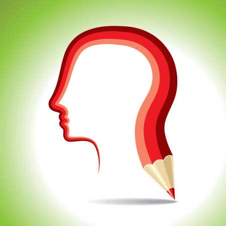 conquering adversity: education idea - Illustration Illustration