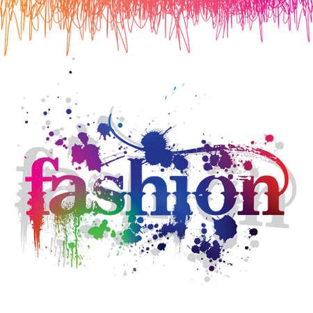 패션쇼 포스터 일러스트