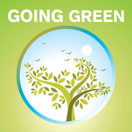 Symbol Of Go Green Royalty Free Cliparts Vectors And Stock