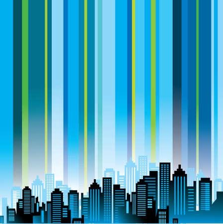 city background: Urban city background
