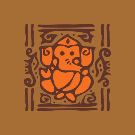Decorative Card Background - Illustration Vector