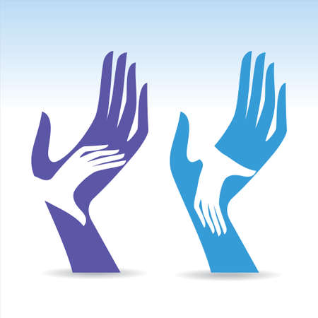 Hands Illustration - Illustration Vector