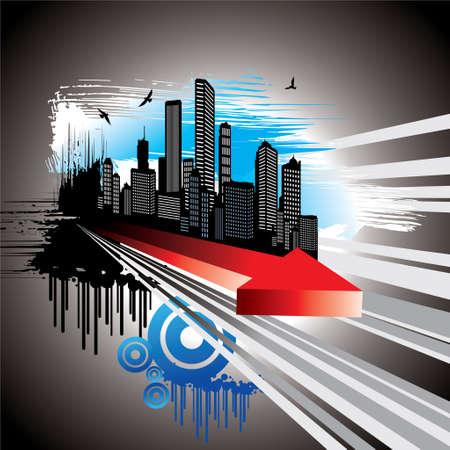 Urban Tech - Illustration Vector