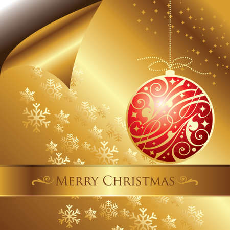 Christmas abstract background with Christmas balls Vector