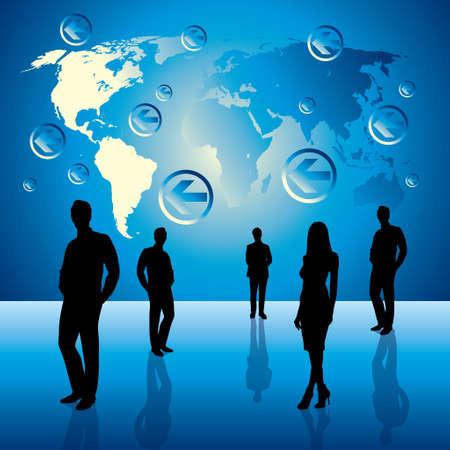 globális üzleti: globális üzleti háttér