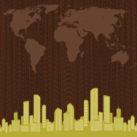 cityscape - Illustration Vector