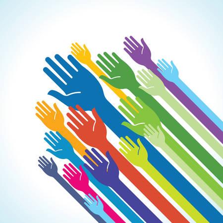 juntos: Voluntarios - Ilustración