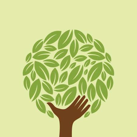 Ecology concept - Illustration