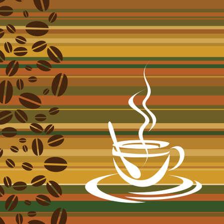 Tasse Kaffee - Illustration Vektorgrafik