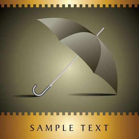 Rain Umbrella - Illustration Vector