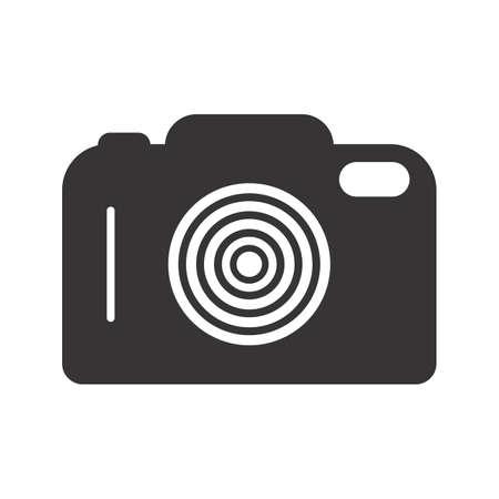 Camera Glyph Black Icon