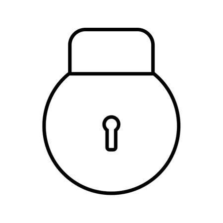 Login Line Black Icon