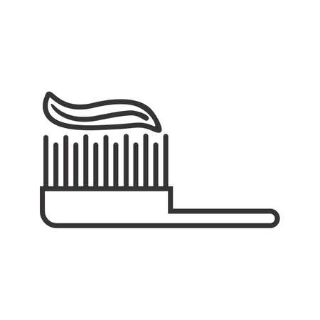 Brush Line Black Icon