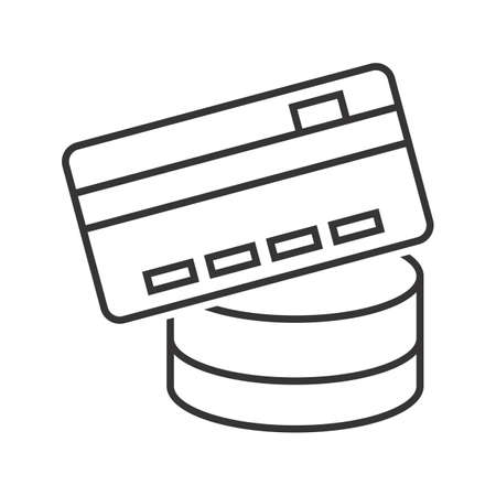 Payment method Line Black Icon