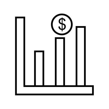Profits Line Black Icon Imagens - 122053602
