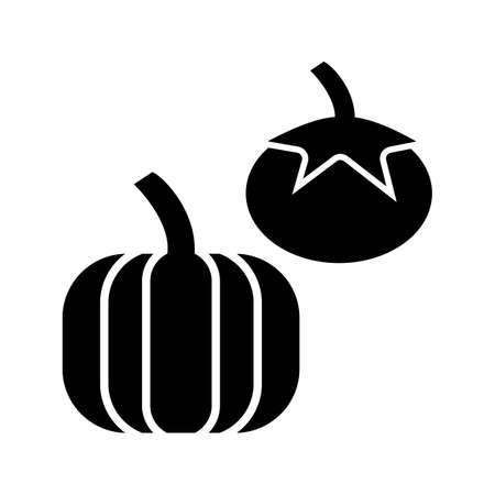Vegetables Glyph Black Icon