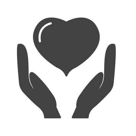 Insurance Glyph Black Icon