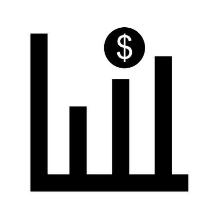 Profits Glyph Black Icon Imagens - 122053727