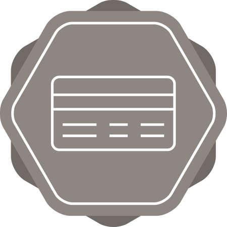 Beautiful Payment method vector line icon Reklamní fotografie - 134969217