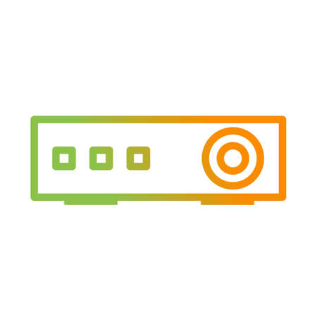 Beautiful Projector vector line icon
