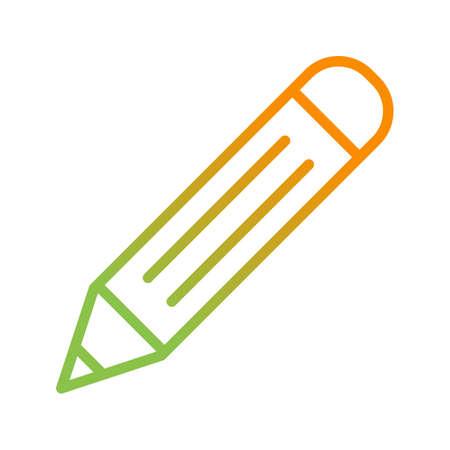 Beautiful Pencil vector line icon