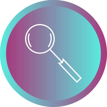 Beautiful search vector line icon