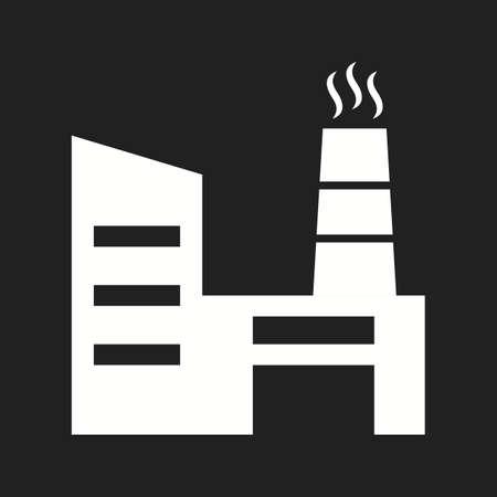 Beautiful Factory Vector Glyph Icon