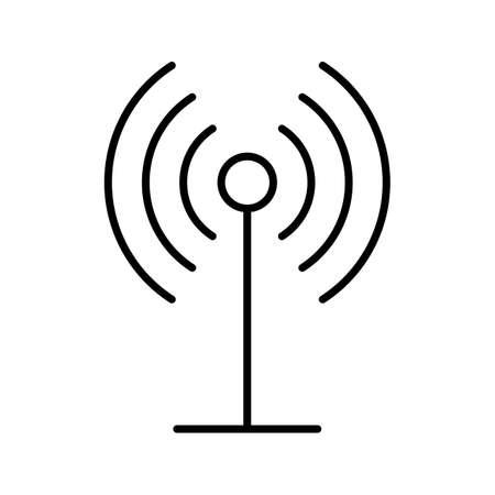 beautiful GPRs line black icon