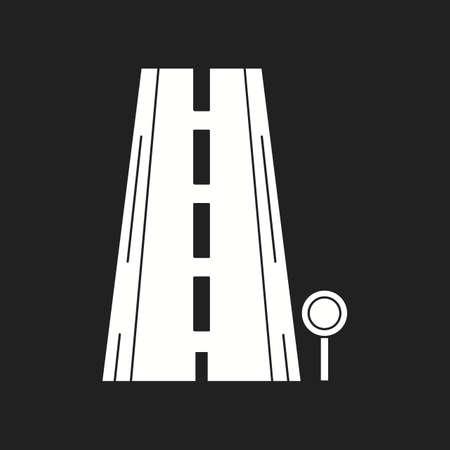Beautiful Signboard Vector Glyph icon