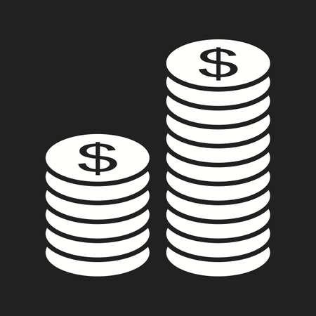 Beautiful Investment Vector Glyph icon