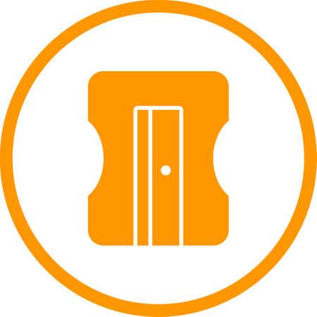 Beautiful Sharpener Vector Glyph icon Ilustração Vetorial