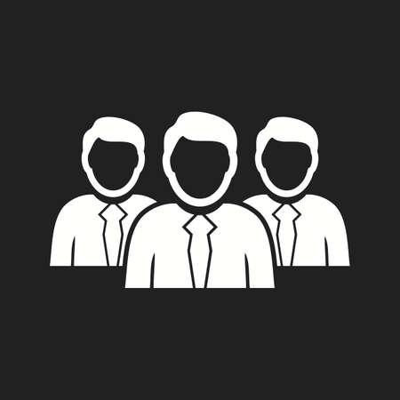 Beautiful Teamwork Vector Glyph Icon