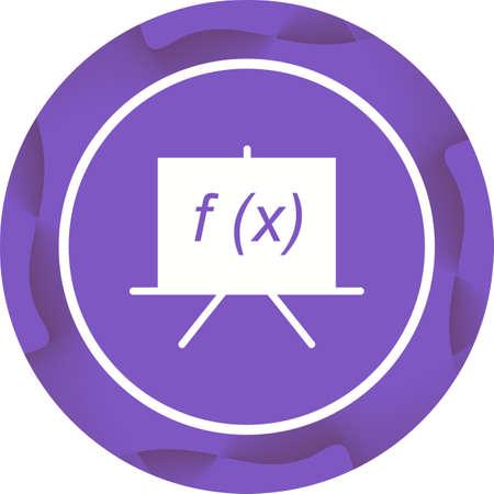 utiful Formula Vector Glyph icon