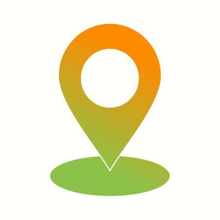 Beautiful Marker Vector Glyph icon