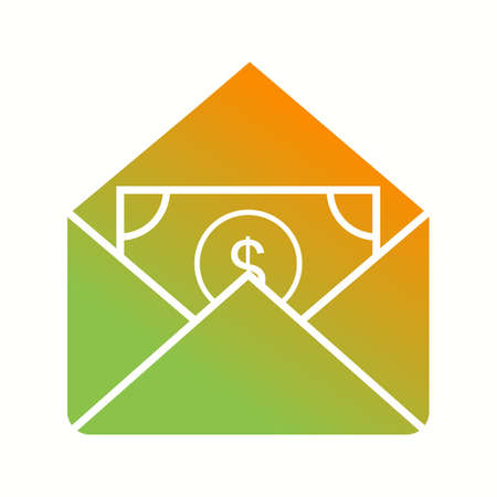 Beautiful Money Vector Glyph icon