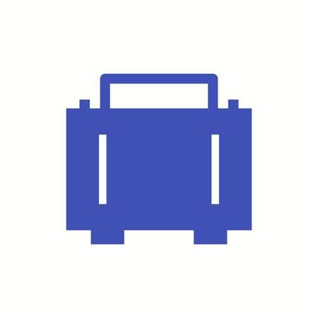 Beautiful Bag Vector Glyph icon 向量圖像