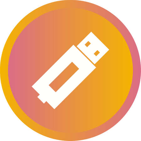 Beautiful Usb Vector Glyph icon