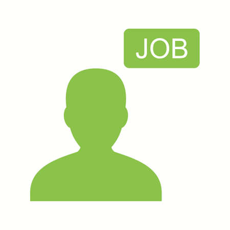 Beautiful Job Vector Glyph icon