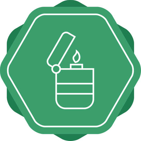 Beautiful Lighter Line Vector Icon