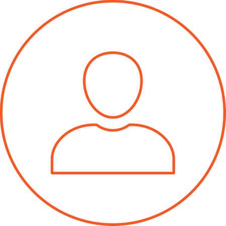 Beautiful Admin roles Line Vector Icon