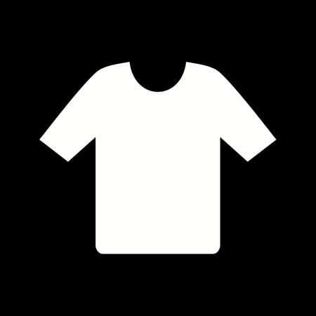 Unique Shirt Vector Glyph Icon