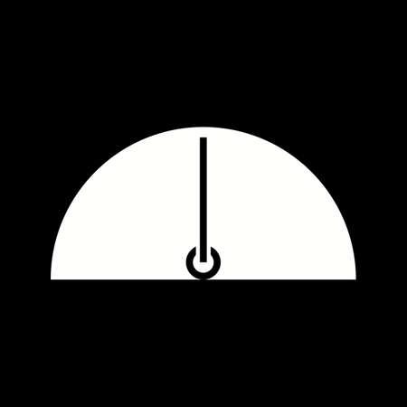 Unique Limit Vector Glyph Icon