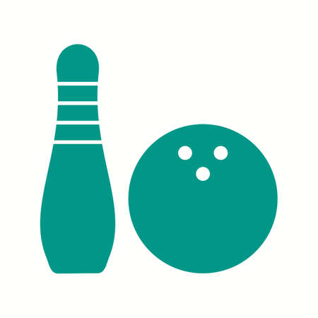 Beautiful Game Glyph Vector Icon Illustration