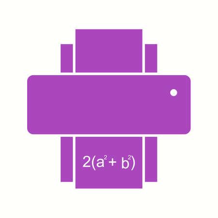 Beautiful Printer Glyph Vector Icon