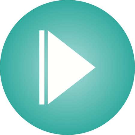 Arrow Next Glyph  Icon