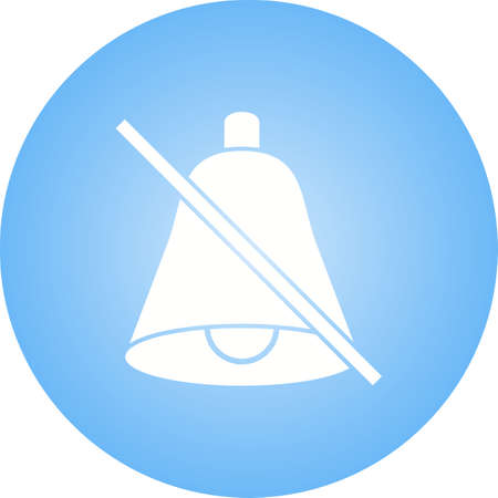 No Bell Glyph Icon