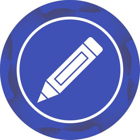 Beautiful Pen Glyph Vector Icon